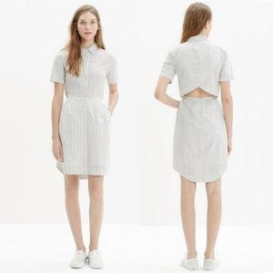 Madewell - Open Back Shirt Dress